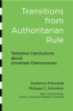 9781421410142 : transitions-from-authoritarian-rule-o-donnell-schmitter-whitehead