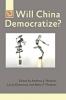 9781421412443 : will-china-democratize-nathan-diamond-plattner