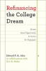 9781421415789 : refinancing-the-college-dream-st-john-asker