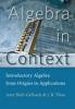 9781421417295 : algebra-in-context-shell-gellasch-thoo