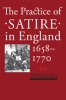 9781421419855 : the-practice-of-satire-in-england-1658-1770-marshall