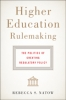 9781421421469 : higher-education-rulemaking-natow