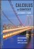 9781421422305 : calculus-in-context-hahn