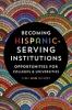 9781421427379 : becoming-hispanic-serving-institutions-garcia