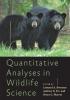 9781421431079 : quantitative-analyses-in-wildlife-science-brennan-tri-marcot