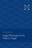 9781421433424 : legal-philosophy-from-plato-to-hegel-cairns