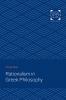 9781421435695 : rationalism-in-greek-philosophy-boas