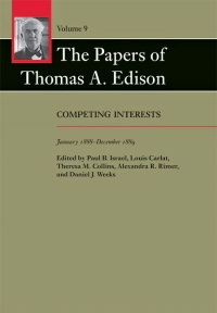 9781421440118 : the-papers-of-thomas-a-edison-volume-9-edison-israel-carlat