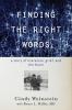 9781421441269 : finding-the-right-words-weinstein-miller