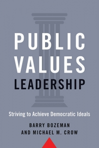 9781421442013 : public-values-leadership-bozeman-crow