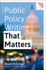 9781421442327 : public-policy-writing-that-matters-2nd-edition-chrisinger-baicker