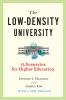 9781421443171 : the-low-density-university-maloney-kim