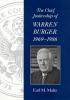 9781570033353 : the-chief-justiceship-of-warren-burger-1969-1986-maltz