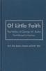 9781589010123 : of-little-faith-black