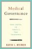 9781589016316 : medical-governance-weimer