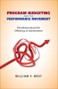 9781589017771 : program-budgeting-and-the-performance-movement-west