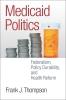 9781589019348 : medicaid-politics-thompson