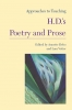 9781603291026 : approaches-to-teaching-h-d-s-poetry-and-prose-debo-vetter