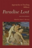 9781603291170 : approaches-to-teaching-miltons-paradise-lost-2nd-edition-herman-berry-bryson