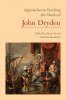 9781603291255 : approaches-to-teaching-the-works-of-john-dryden-lewis-zunshine