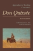 9781603291873 : approaches-to-teaching-cervantess-don-quixote-2nd-edition-parr-vollendorf
