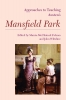 9781603291989 : approaches-to-teaching-austens-mansfield-park-folsom-wiltshire