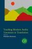 9781603293150 : teaching-modern-arabic-literature-in-translation-hartman