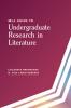 9781603294362 : mla-guide-to-undergraduate-research-in-literature-brookbank-christenberry