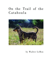 9781608012022 : on-the-trail-of-the-catahoula-lebon