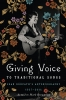 9781611178920 : giving-voice-to-traditional-songs-redpath-brownrigg
