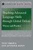 9781626161443 : teaching-advanced-language-skills-through-global-debate-brown-bown