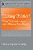 9781626161450 : talking-politics-kennedy
