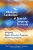 9781626165731 : the-changing-landscape-of-spanish-language-curricula-brown-thompson