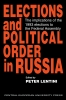 9781858660172 : elections-and-political-order-in-russia-lentini
